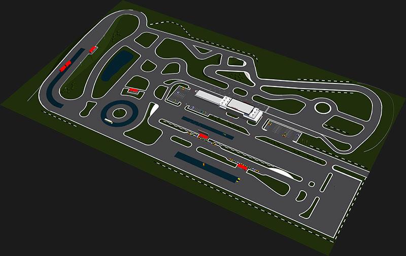 Driver Training Facility Track